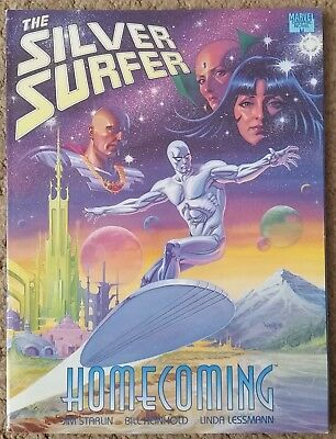 The Silver Surfer Homecoming Graphic Novel (By Jim Starlin)