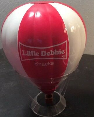 Little Debbie Snacks Hot Air Balloon with Plastic Stand!! Good Condition!
