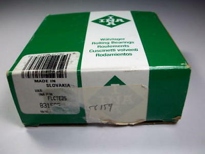 INA  FLCTE25 Flange-Mount Ball Bearing Unit *NEW*