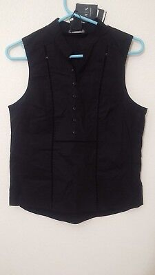 A|X Armani Exchange Womens Top Sz S/P Top Sleeveless NEW NWT