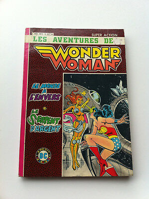 Super action Les aventures de Wonder Woman le monde à l'envers - le serpent..