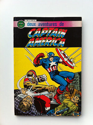 Super star album n°2 - 2 aventure de Captain America Arédit comics vf