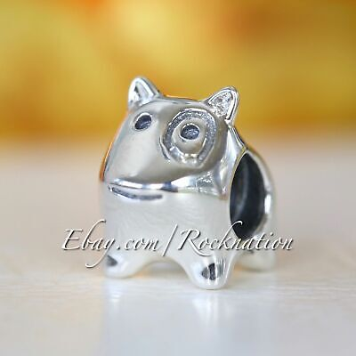 Pandora Authentic Sterling Silver Charm Doggie 790258 Puppy Retired (9)