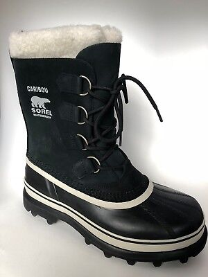 NIB - Sorel Women's Water Proof Caribou Boots Black Stone PICK SIZE
