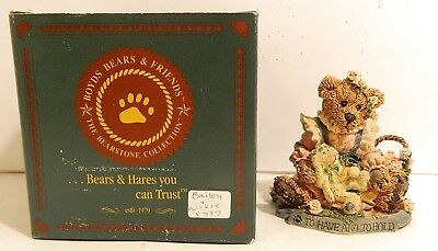"""1993 Boyds Bears & Friends, """"Things are Beautiful if You Love Them"""" Style #2017"""
