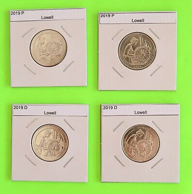 2019 PD set x2(4 Coins) Lowell America the Beautiful (ATB)–Mint Bags in hand