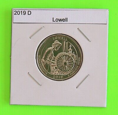2019 D x5 (5 Coins) Lowell America the Beautiful (ATB)–From Mint Bags in hand