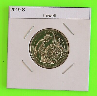 2019 S x5 (5 Coins) Lowell America the Beautiful (ATB)–From Mint Bags in hand