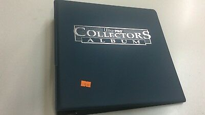 Ultra Pro Collectors Ring Album/binder - For A4 9 Pocket Sleeves - Blue