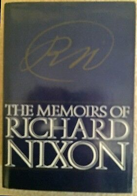 The Memoirs of Richard Nixon - 1978 first edition, in great shape
