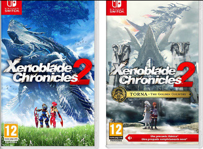 Pack Xenoblade Chronicles 2 + Torna The Golden Country Nuevos Nintendo Switch