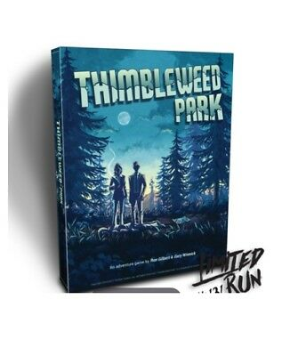 Thimbleweed Park Big Box Edition coleccionista collector PS4 SEALED Limited Run