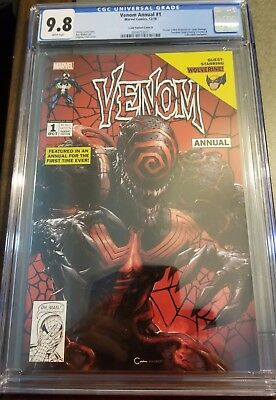 Venom Annual #1 Clayton Crain Variant Cover A (Lethal Protector 1) Cgc 9.8 Nm/mt