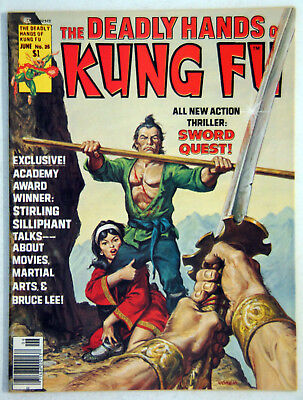 The Deadly Hands of Kung-Fu Jun 1976 Issue # 25, staring Stirling Silliphant NM+