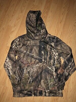 Boys Under Armour Coldgear Storm Camouflage Realtree Hoodie Youth Large YLG