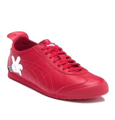 ASICS DISNEY MICKEY MOUSE X Onitsuka Tiger MEXICO 66 Red LEATHER Sneakers Shoes