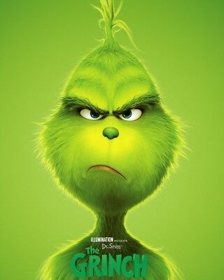 Dr. Seuss' The Grinch (2018) Dvd Only | Benedict Cumberbatch