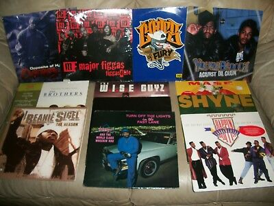 "RAP/HIP HOP/R&B COLLECTION/LOT OF 251 SEALED 12"" SINGLES/LPS/DOUBLE 80's-00's"