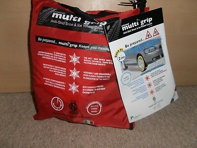 Agripool universal multigrip anti-skid snow and ice wheel covers Brand new