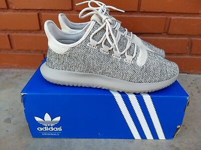 New ADIDAS Mens Originals Tubular Shadow Light brown/Brown/Black Size 9