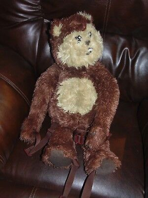 "Star Wars EWOK BACKPACK 24"" Plush Buddy Tote Bag Stuffed Storage"