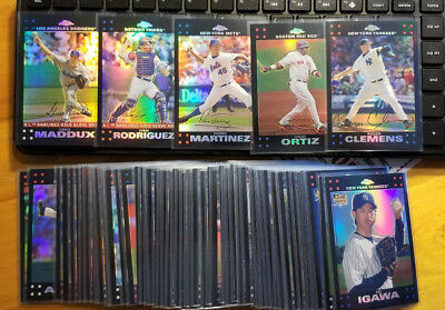 2007 Topps Chrome Refractors Fill your set you pick choice 3.33 flat shipping