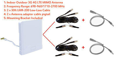 3G 4G LTE Omni Directional MIMO Antenna for Netgear LB1120 LB1121 Modem Router
