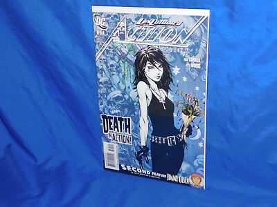 Action Comics #894 1st Appearance Death in DC Universe NM- 1st Print, 2010