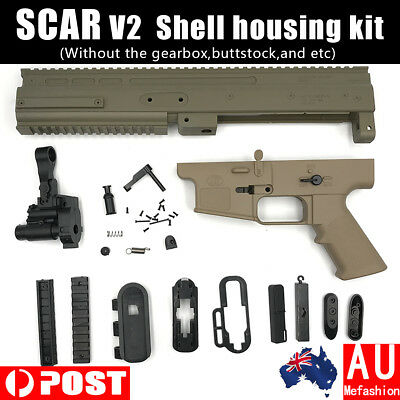 SCAR V2 Receiver Shell Kit Jinming Gel Blaster Water Toy Accessories AU Store