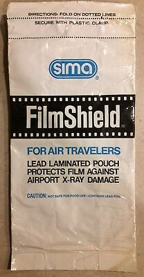 SIMA Film Shield X-Ray Film Protection BagLead Lined (used)