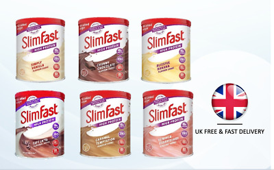 Slimfast Powder Shake Diet Weight Loss Milkshake Meal Replacement- 2, 3, 4 Tins
