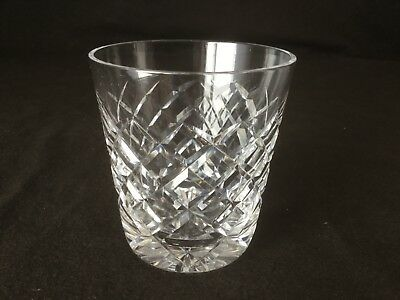"Waterford Crystal Tyrone Single Old Fashioned Tumbler Glass 3 1/2"" Individually"