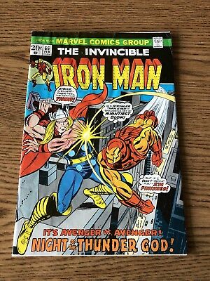 Iron Man 66 1974 Marvel VG Guest-starring Thor and Doctor Spectrum Complete