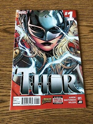 Thor 1 2014 Marvel NM 1st Print Jane Foster as Thor!