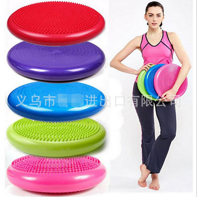 Gym Yoga Balance Pad Board Disc Stability Air Cushion Wobble Physio w/ Pump-AU