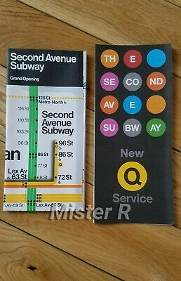 Mta Nyc Transit Subway Q Train Second Ave Extension Grand Opening