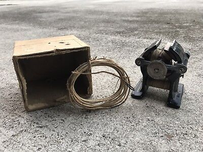 Antique Late 1800's NOS 1900's  Electric DC Bipolar Motor Generator Unmarked