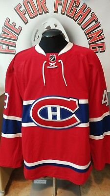 designer fashion 4d5f1 7ee6b MONTREAL CANADIENS GAME worn jersey NHL
