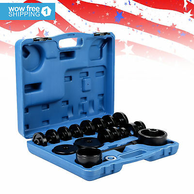 Bearing Removal Adapter Tool Puller Pulley Kit 23pcs FWD Front Wheel Drive.