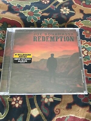 Joe Bonamassa Redemption CD 2018,  New in shrinkwrap free ship