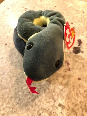 e478b7fa5ce Ty Beanie Babies Retired RARE!!!!! Hissy With Tag Errors Mint Condition