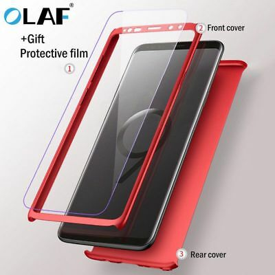 360° Full Protective Mobile Phone Cover Case For Samsung Galaxy S9 S8 Plus S7 S6