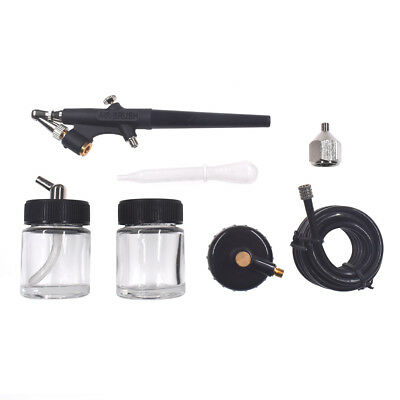 Air Brush Car Spray Gun Kit Air Compressor Paint Hobby Art Tattoo Cake