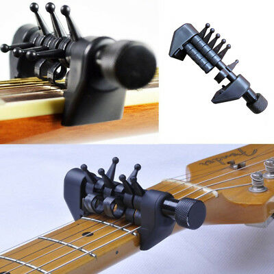 Multifunction Capo Open Tuning Spider Chords For Acoustic Guitar Strings new BLK