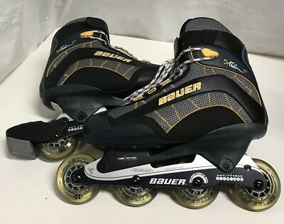 Bauer Extra 60 Roller Blades In Excellent Condition Size 10