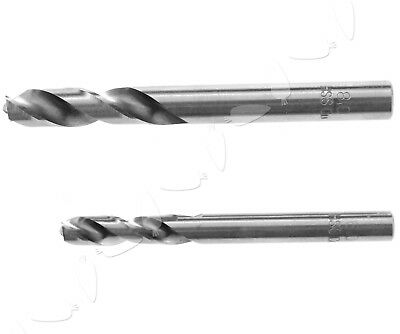 2 x High Speed Steel CO Spot Weld Drill/Remover/Cutter Drill Bit 6mm & 8mm