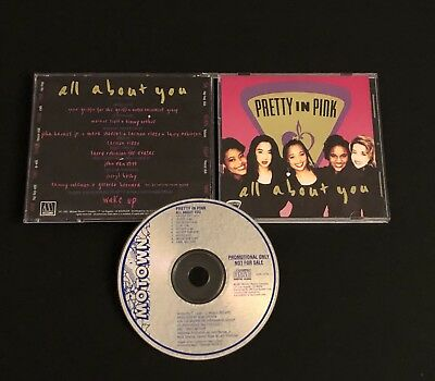 PRETTY IN PINK  All About You 1991 MOTOWN CD45-1279 PROMO Maxi-Sgl Rare R&B CD