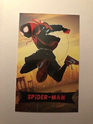 SPIDER-MAN INTO THE SPIDER-VERSE amc theaters trading card Miles Morales