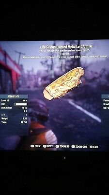 Fallout 76 Ps4 sentinel Left arm