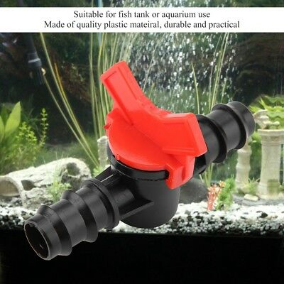 Water Flow Control Valve Hose Pipe Flow Control Inner Dia for Aquarium Fish Tank